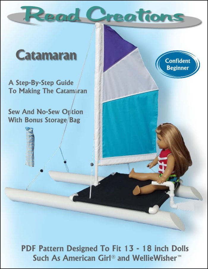 "Catamaran for 14"" - 18"" dolls"