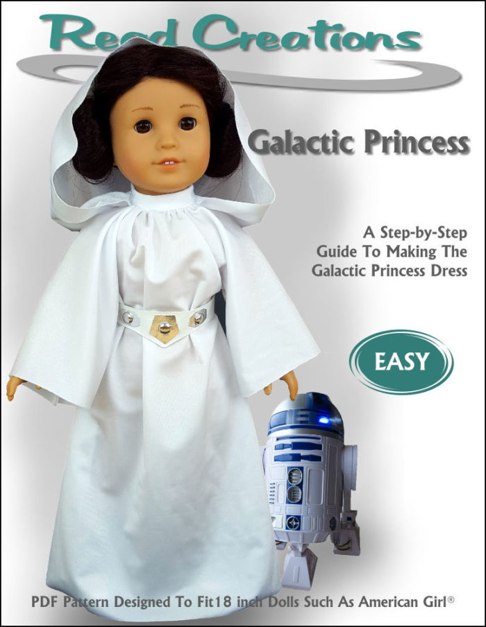 Galactic Princess pattern for 18-inch dolls