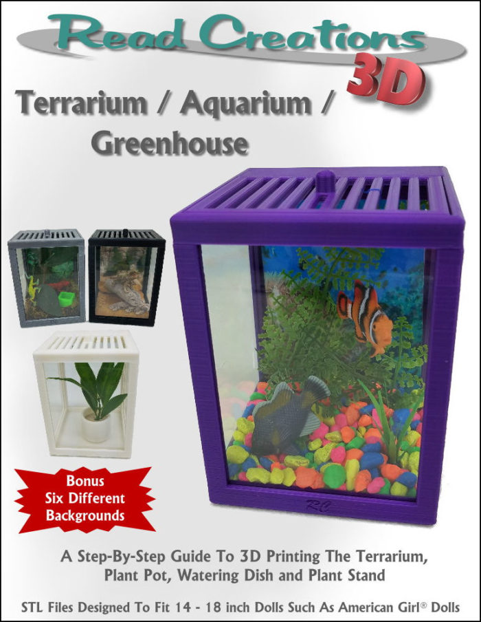 Cover for 3D printed Terrarium