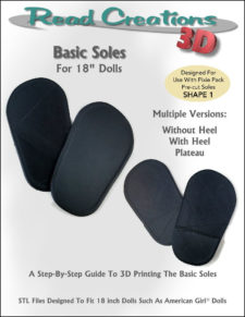 Basic Soles for 18″ Dolls