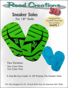 Sneaker Soles for 18″ Dolls